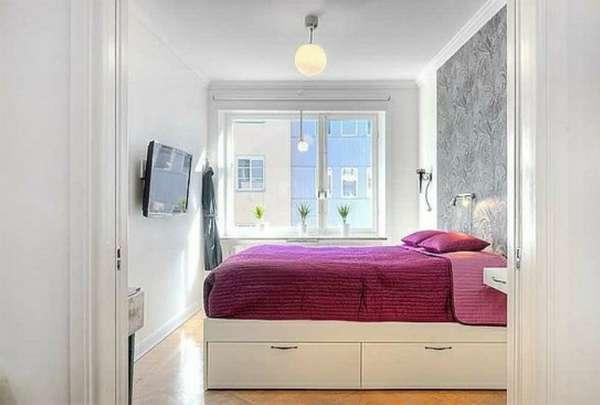 дизайн интерьера спальни, фото 12