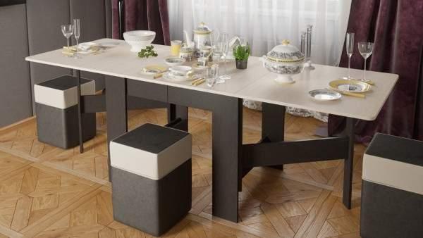 стол с фотопечатью раскладной на кухню, фото 35