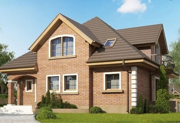 как оформить фасад дома, фото 5