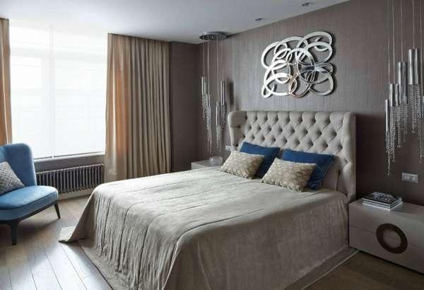 интерьер спальни в квартире, фото 7