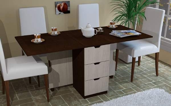 стол с фотопечатью раскладной на кухню, фото 22