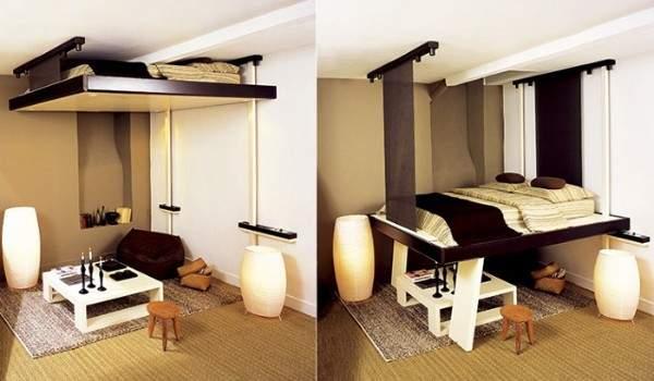 маленькая однокомнатная квартира дизайн интерьера, фото 7