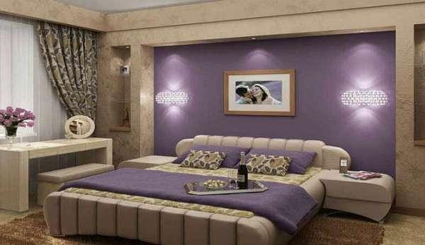 бюджетный интерьер спальни, фото 74