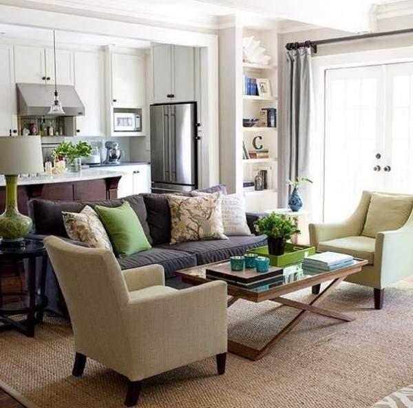 маленькая однокомнатная квартира дизайн интерьера, фото 11