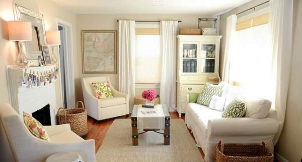 дизайн однокомнатной небольшой квартиры, фото 12