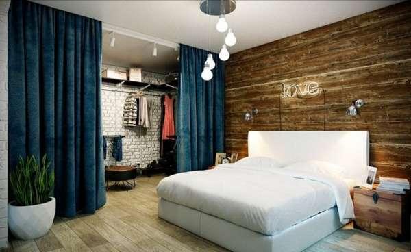 интерьер спальни 2020, фото 50