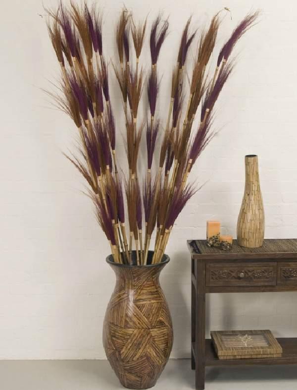 Ветки для напольной вазы своими руками 21
