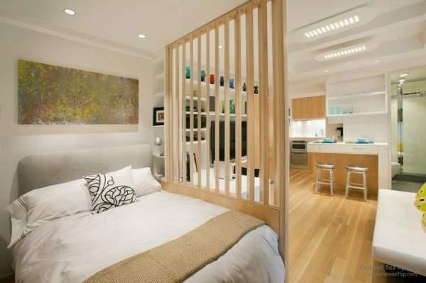 маленькая однокомнатная квартира дизайн интерьера, фото 19