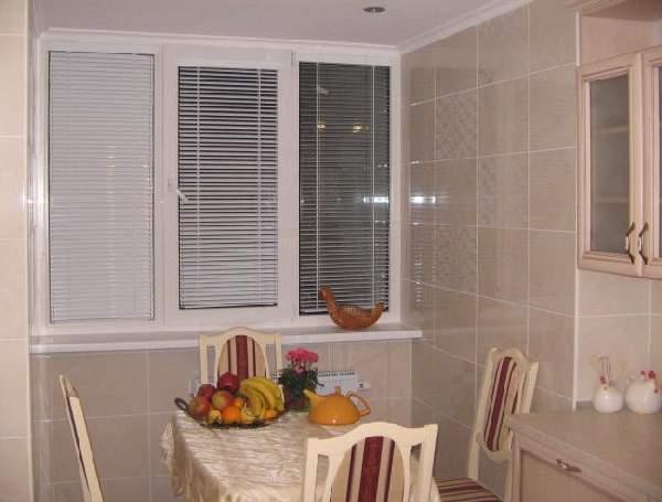 горизонтальные жалюзи на кухню, фото 30