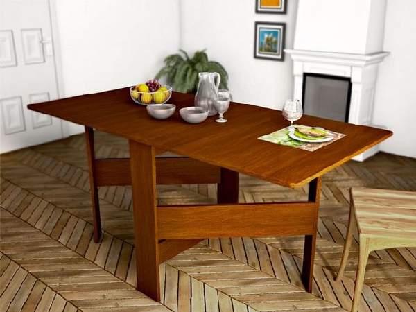 раскладные обеденные столы трансформеры, фото 25
