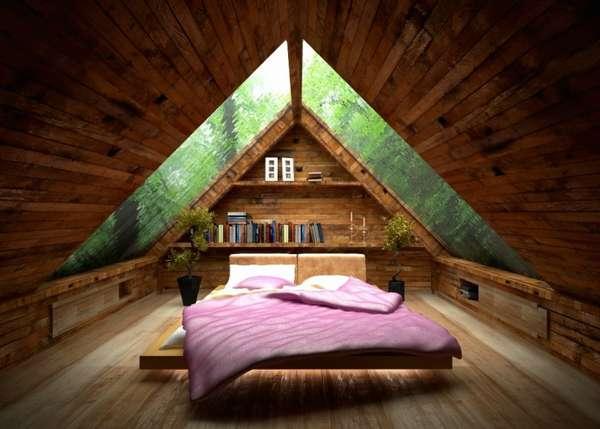 интерьер спальни кабинета, фото 42