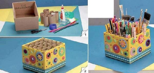 поделки из картона своими руками для детей, фото 7