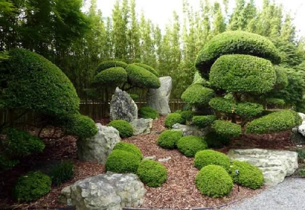 ландшафтный дизайн в японском стиле фото, фото 30