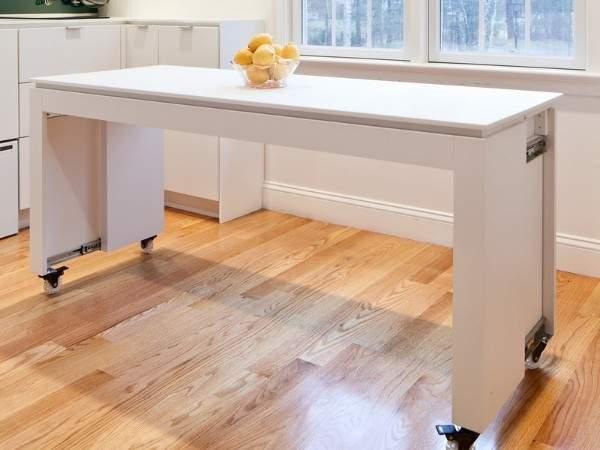 раскладные кухонные столы фото, фото 25