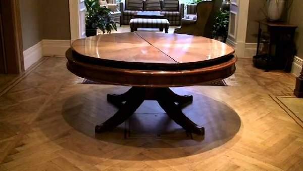 стол обеденный круглый раскладной, фото 35