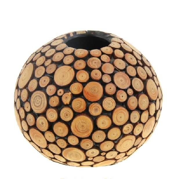 напольная ваза своими руками из картона, фото 4