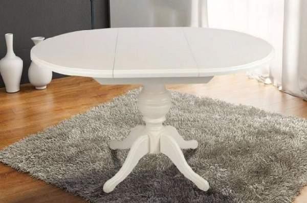 стол обеденный на одной ноге раскладной, фото 33