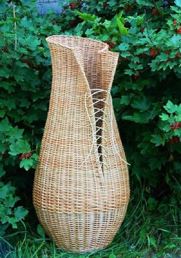 напольная ваза своими руками из трубы, фото 5