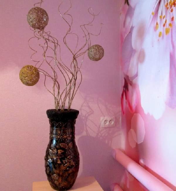 фото напольных ваз своими руками, фото 6