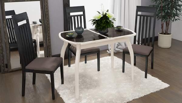стол обеденный большой раскладной, фото 55