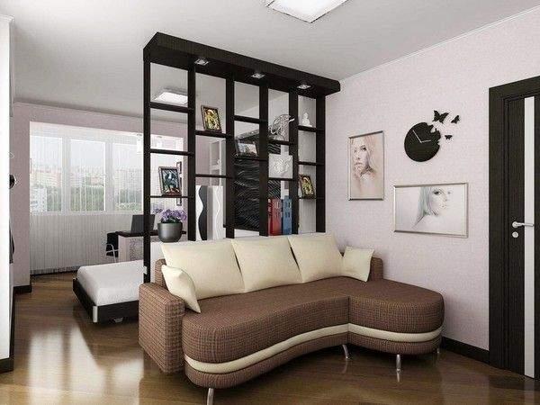 дизайн однокомнатной небольшой квартиры, фото 20
