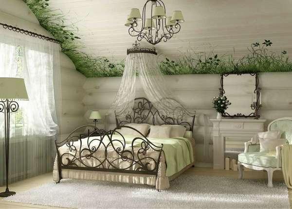 интерьер спальни, фото 32