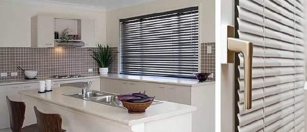 горизонтальные жалюзи на кухню фото, фото 31