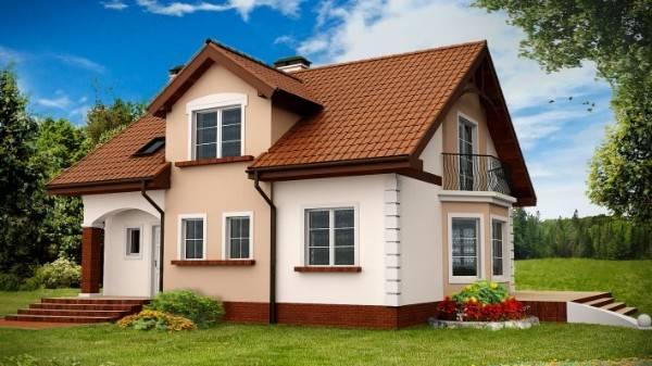 фасады одноэтажного дома, фото 50