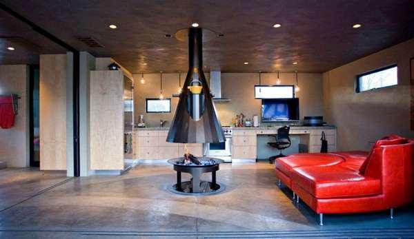 дизайн кухни гостиной в классическом стиле, фото 48