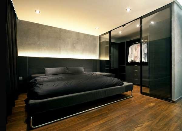 интерьер спальни в частном доме, фото 20