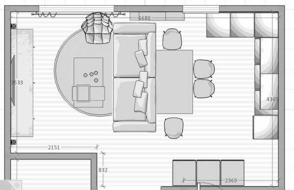 дизайн кухни студии совмещенной с гостиной, фото 54