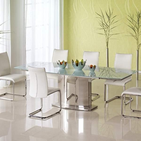 раскладной стеклянный стол для кухни, фото 27