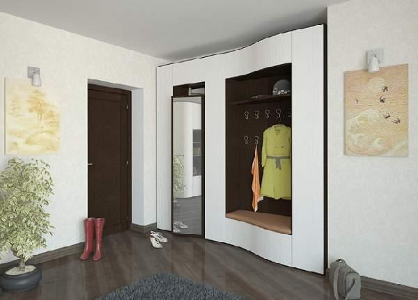 встроенные прихожие в коридор фото, фото 37