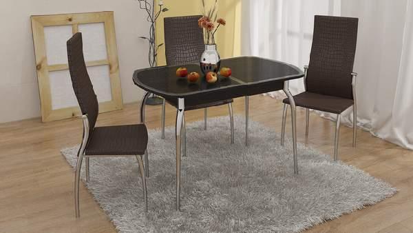 стол обеденный раскладной прямоугольный, фото 60