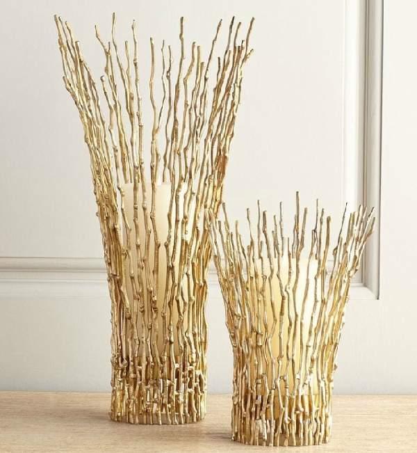 Ветки для напольной вазы своими руками 914