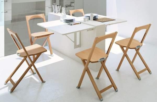 раскладные столы для маленькой кухни, фото 48