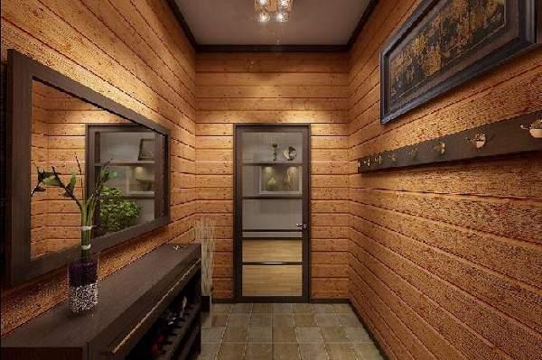 коридор прихожая в частном доме фото, фото 41