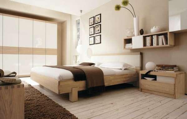интерьер спальни кабинета, фото 52