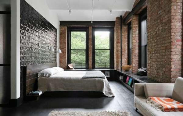 интерьер спальни на даче, фото 53