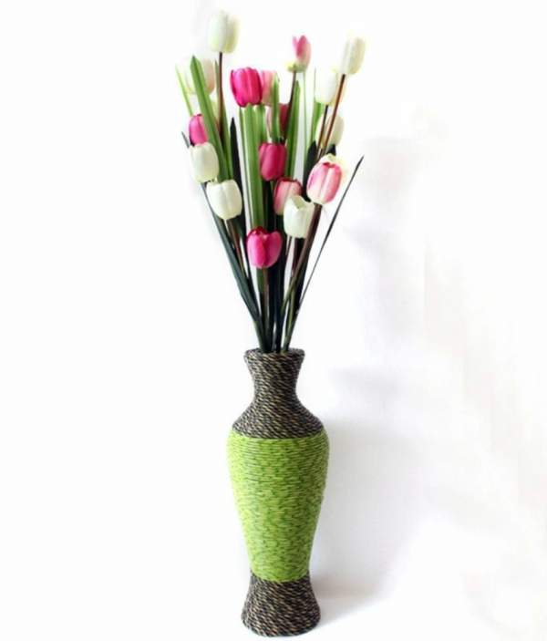 цветы для напольных ваз своими руками, фото 13
