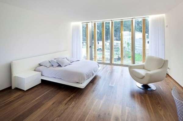 интерьер спальни минимализм, фото 61