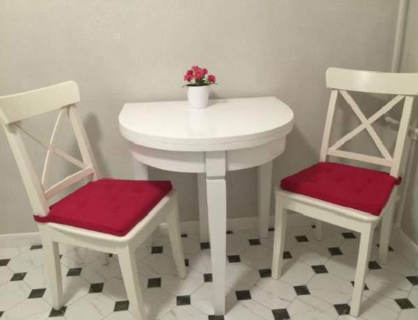 стол кухонный раскладной для маленькой кухни, фото 45