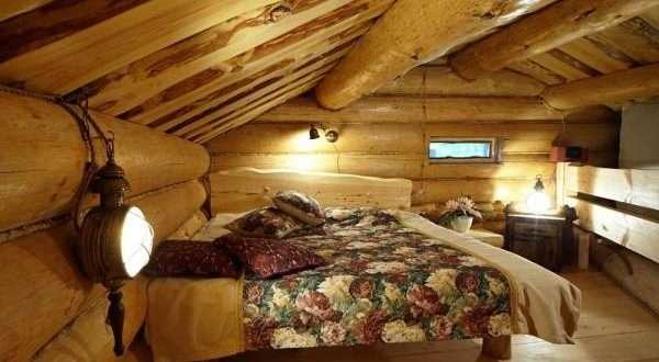 интерьер спальни в частном доме, фото 39
