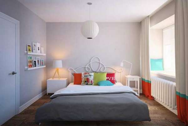варианты интерьера спальни, фото 55