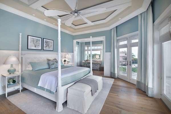 варианты интерьера спальни, фото 56