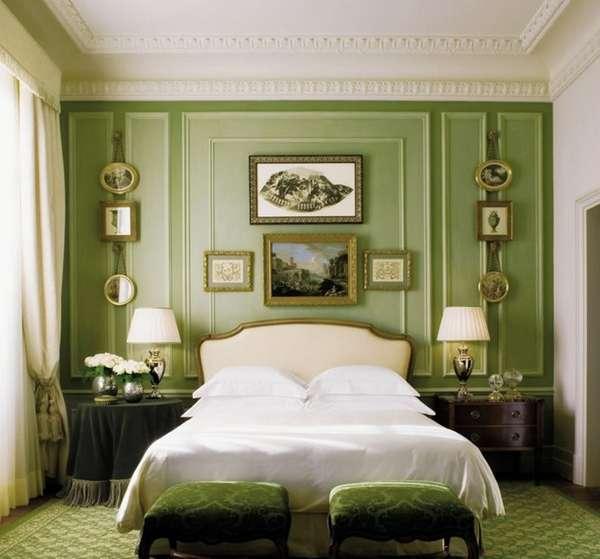 варианты интерьера спальни, фото 57