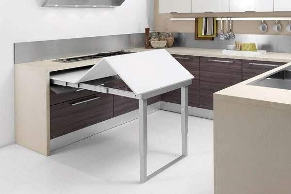 раскладные кухонные столы фото, фото 13