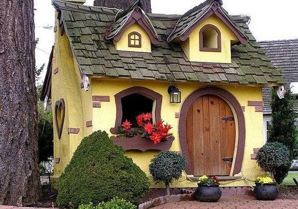 Красивые одноэтажные дома