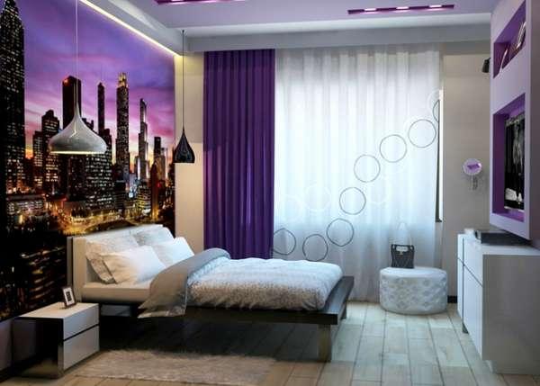 интерьер спальни 2021, фото 68