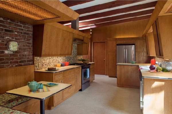 фото современных кухонь в частном доме, фото 73